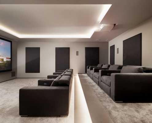LUX MARE Casa M Cinema Room