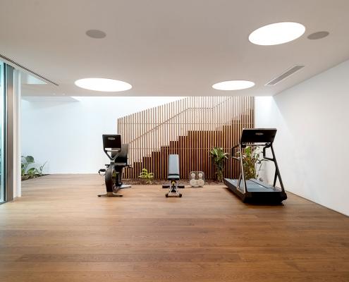 LUX MARE Casa M Gym Area
