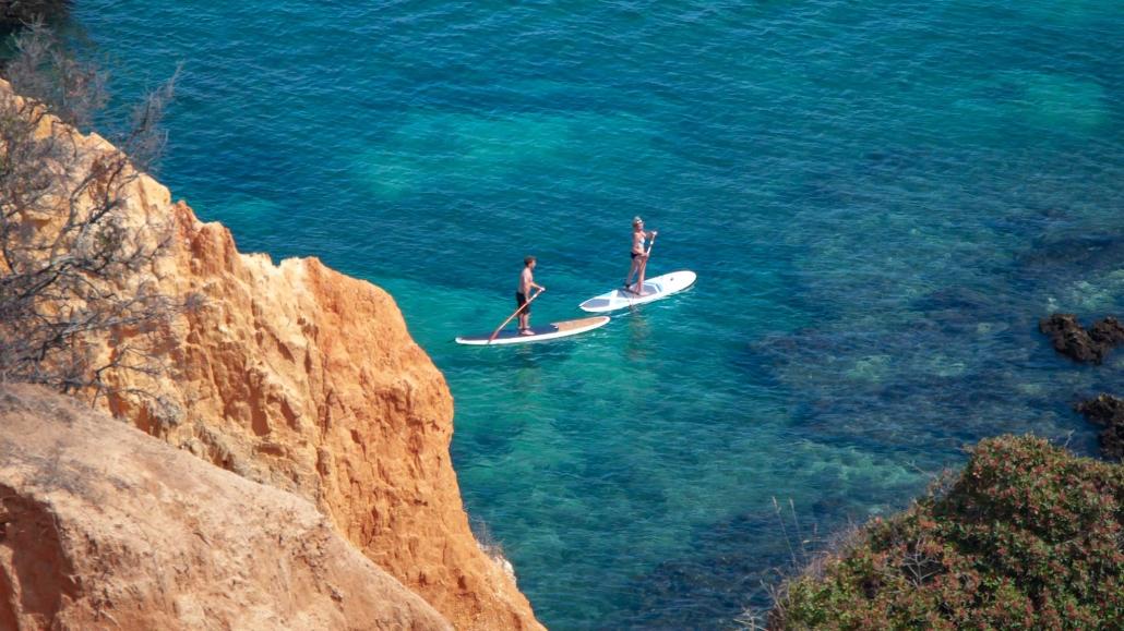 Water sports in the Algarve